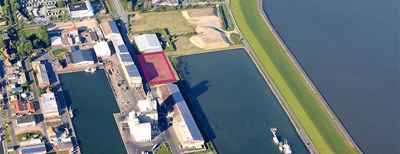 Gewerbeflächen Hafen Büsum